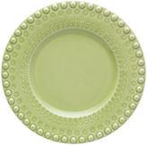 One Kings Lane Fantasy Dessert Plate, Bright Green