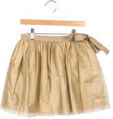 Bonpoint Girls' Pleated Tulle Skirt
