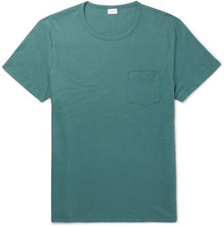 Onia Chad Linen-Blend T-Shirt