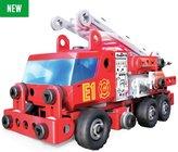 Meccano Junior Rescue Fire Engine Building Set