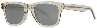 Saint Laurent SL 51 Mirrored Wayfarer-style Sunglasses