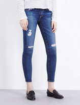 AG Jeans Skinny mid-rise cropped jeans
