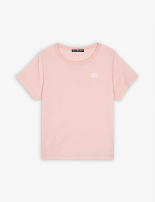 Acne Studios Nash cotton T-shirt 3-10 years