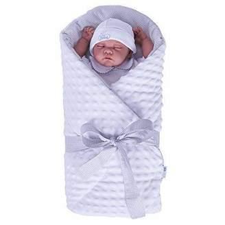 Minky Sevira Kids Baby Swaddling Blanket Apricot