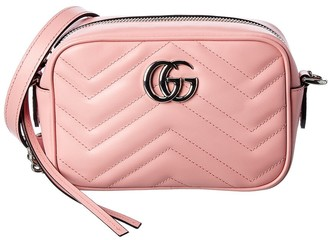 Gucci Gg Marmont Mini Matelasse Leather Crossbody