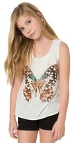 O'Neill Butterfly Kisses Graphic Tank (Little Girls & Big Girls)