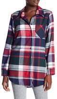 Free Press Plaid Flannel Nightshirt