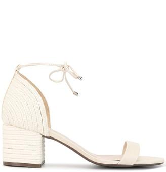 Schutz Woven 60mm Sandals