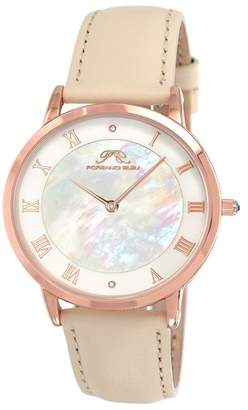 Porsamo Bleu Women's Nina Interchangeable Bands Diamond Watch, 38mm - 0.01 ctw