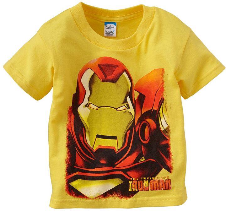"Iron Man invincible"" tee - toddler"