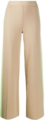 MSGM Side-Striped Knit Trousers