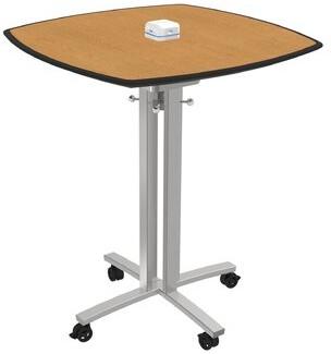 Square Meeting Table Palmer Hamilton Top Finish: Golden Oak