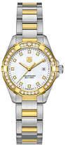 Tag Heuer Aquaracer ladies' 2 colour bracelet watch