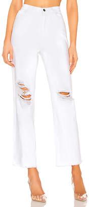 superdown Angel Straight Leg Jeans. - size L (also