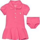 Ralph Lauren Pink Swing Pique Dress with PP
