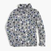 J.Crew Girls' star-printed tissue turtleneck T-shirt