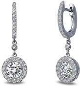 Lafonn Women's Classic Halo Drop Earrings