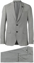 Lardini patterned formal two-piece suit