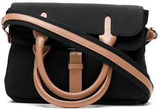 Sarah Chofakian Foldover Top Shoulder Bag