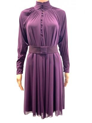Vivienne Tam Purple Dress for Women