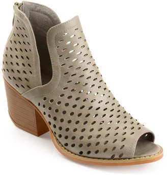 Journee Collection Alaric Perforated Bootie
