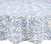 John Lewis Painterly Leaf Wipe Clean Round Tablecloth, Dia.180cm