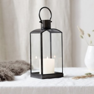 The White Company Fireside Small Lantern, Grey, One Size