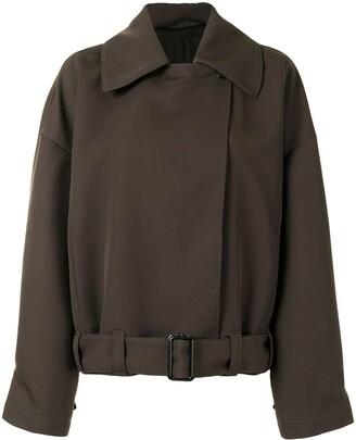 Lemaire Oversized Belted Jacket
