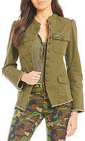 William Rast Bragg Fitted Military Jacket