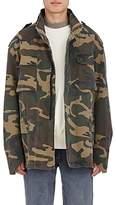 Yeezy Men's Camouflage Oversized Cotton Jacket