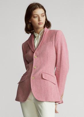 Ralph Lauren Cotton-Blend Blazer