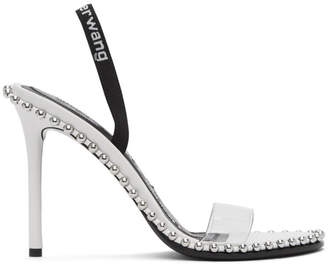 Alexander Wang White Nova Heeled Sandals