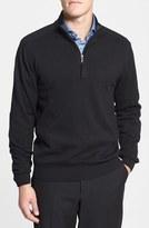 Cutter & Buck Men's 'Broadview' Cotton Half Zip Sweater