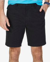 "Nautica Men's Flat-Front Cotton 8 1/2"" Deck Shorts"