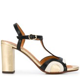 Chie Mihara T-bar strap heeled sandals