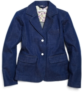 Brooks Brothers Washed Denim Blazer