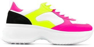 Hogan Colour Blocked Sneakers