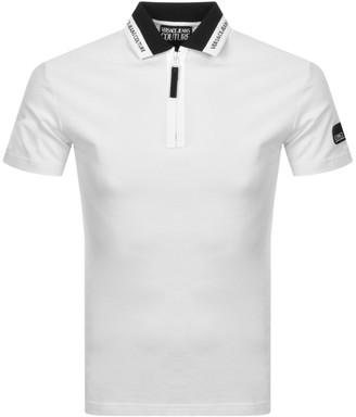 Versace Short Sleeve PoloShirt White