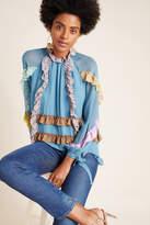 Cynthia Rowley Araminta Ruffled Silk Blouse