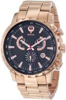 Brillier Men's 16-01 Endurer Rose Gold Chronograph Swiss Quartz Watch