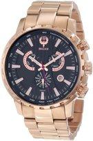 Brillier Men's 16-01 Endurer Rose Gold Chronograph Swiss Quartz Watch