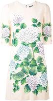 Dolce & Gabbana floral shift dress - women - Silk/Spandex/Elastane/Viscose - 40