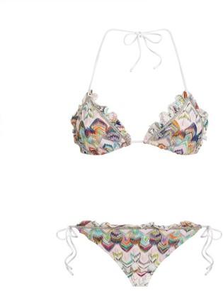Missoni Zigzag Print Ruffle Bikini