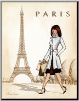 Art.com ''Paris'' Wood Wall Art