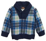 Tea Collection Infant Boy's Tartan Pullover Sweater