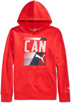 Puma Boys' Long-Sleeve Canada Graphic-Print Hoodie