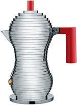 Alessi Pulcina Espresso Coffee Maker - Red - Small