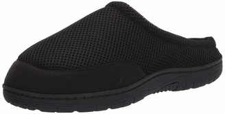 Kenneth Cole Reaction Men's Clog Slipper House Shoes with Memory Foam Indoor/Outdoor Sole