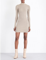Yeezy Athletic knitted mini dress