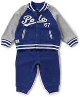 Ralph Lauren Baby Boys 3-24 Months French Terry Jacket & Pant Set